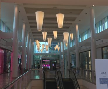 Tyson's Mall Entrance - Fire Protection System